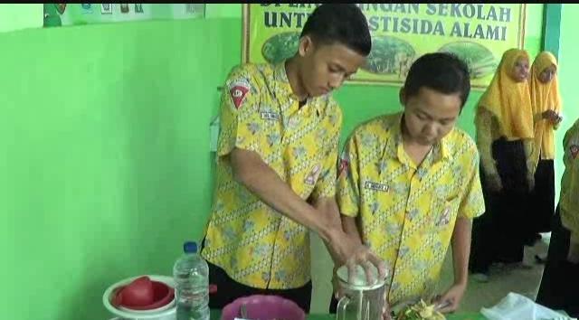 Siswa SMP di Jombang Temukan Pestisida Berbahan Toga