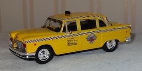 Checker taxi jaune