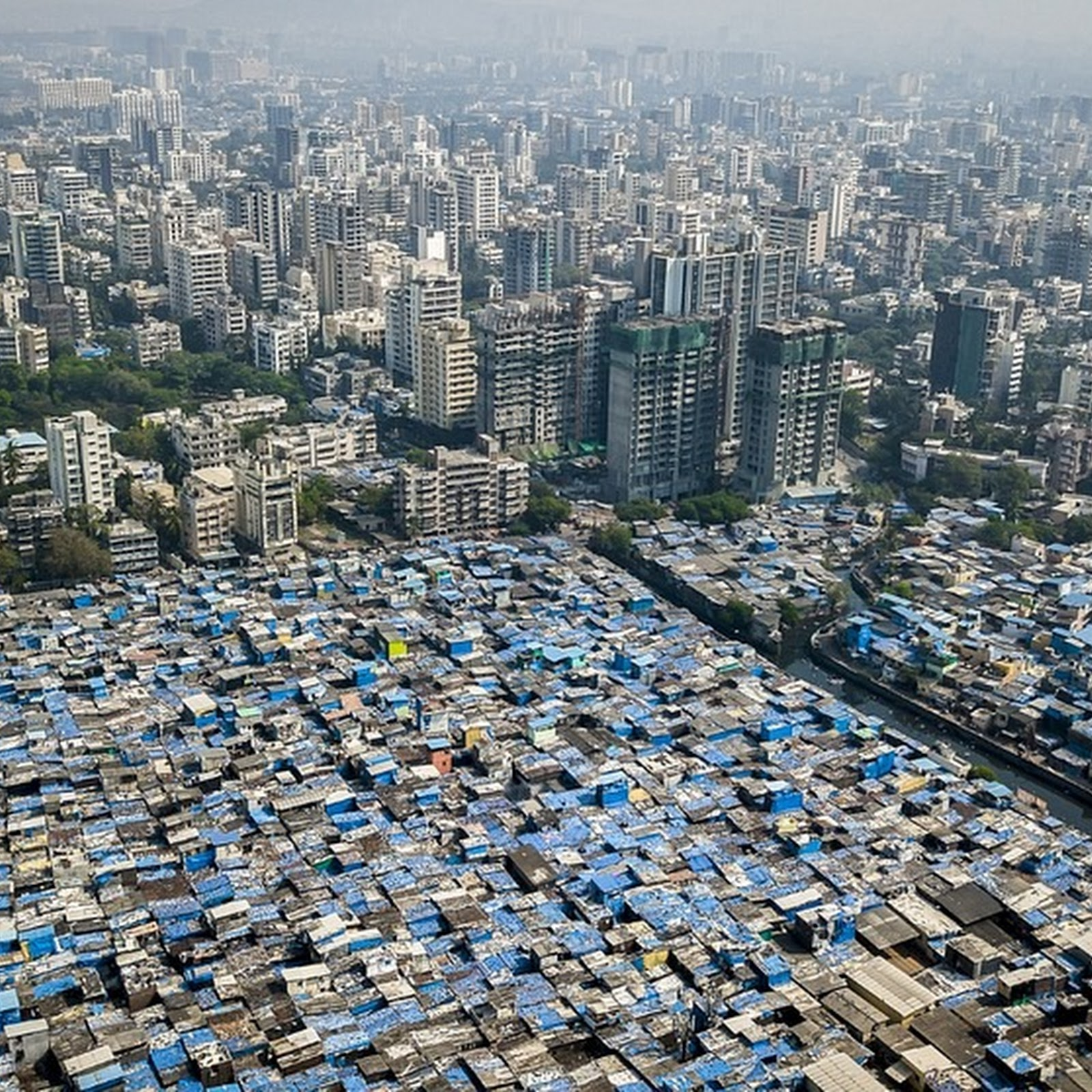 Photographer Uses Drone to Capture Social Inequality Across The World