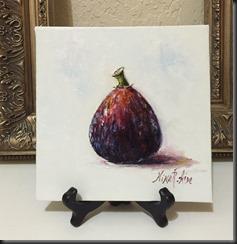 Fig June Easel