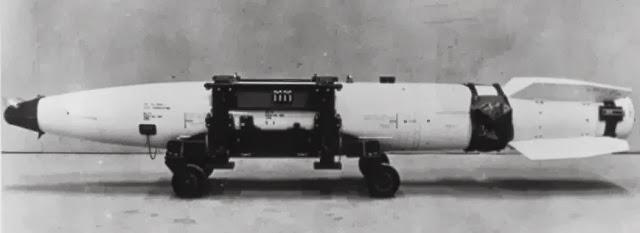 Mk43 - US-amerikanische Atombombe für Canberra Bi8