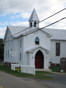 This is the original part of the building as it is today.  It houses our children's ministry and Building Blocks Preschool.  A new narthex and entrance was added to the original building.