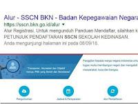 Panduan untuk Registrasi dan Mendaftar CPNS 2018 Melalui Web Resmi Sscn.bkn.go.id
