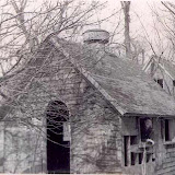 Generator shed on Apple Island used to power the Ward house. Image take in 1953