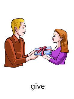 give%2520 %2520flashcard Verb flashcard