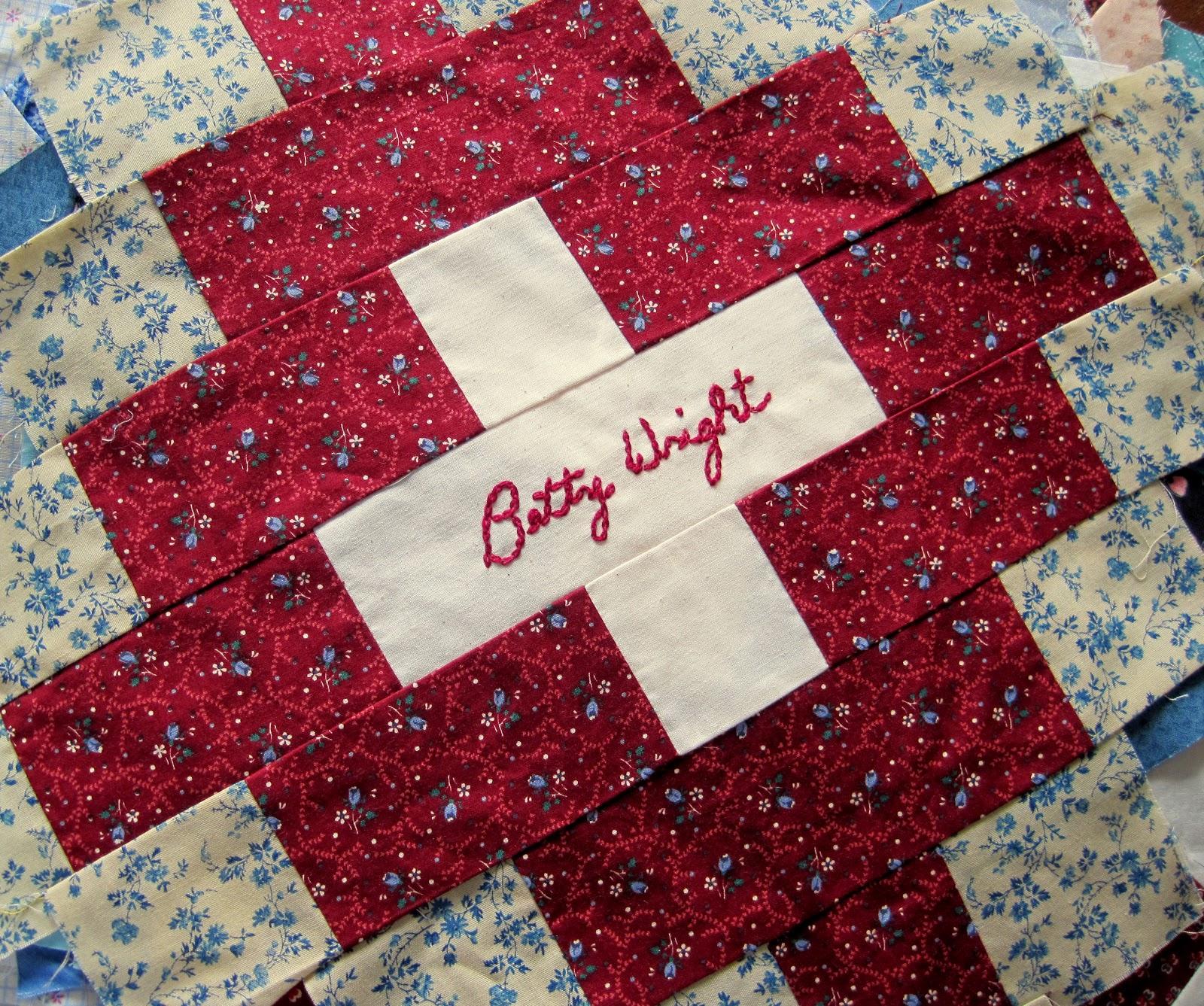 A Sentimental Quilter: Old Signature Blocks : signature quilts - Adamdwight.com