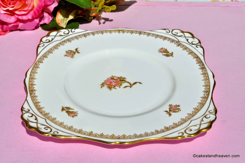 Rosalie pattern vintage fine English bone china