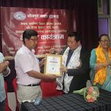 नेपाल चलचित्र बिकाश बोर्डका अध्यक्ष राजकुमार राईको सम्मान