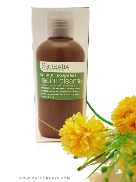 [Review] Sensatia Botanicals Original Soapless Facial Cleanser