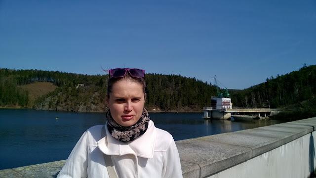 Linda na přehradě Hracholusky