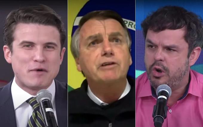 Bolsonaro se irrita e abandona  'Pânico'  com pergunta sobre rachadinha