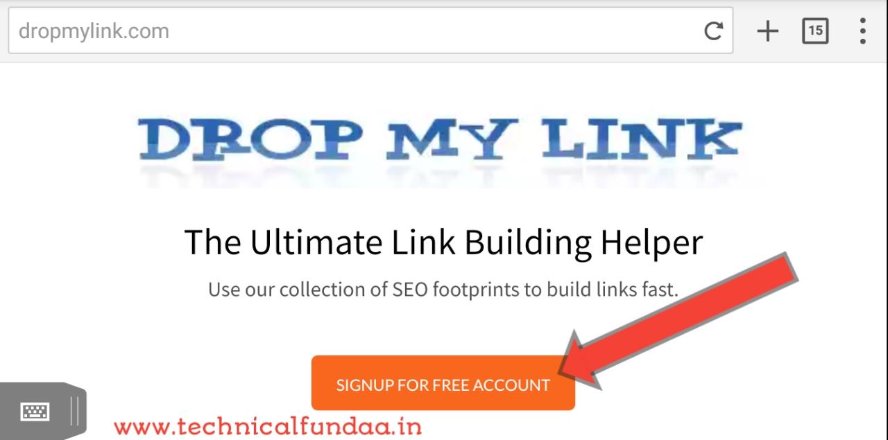 generate free backlinks