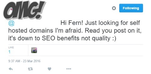 SEO over quality