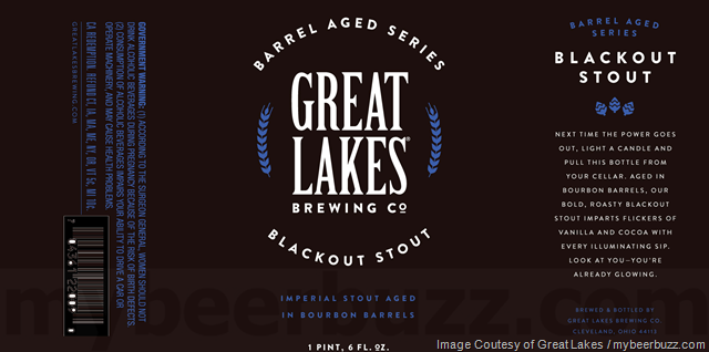 Great Lakes Blackout Stout Coming To Barrel-Aged Series