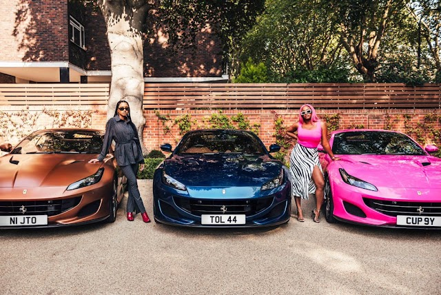 Father Of The Year! Otedola Acquired 3 #FerrariPortofino For His Daughters