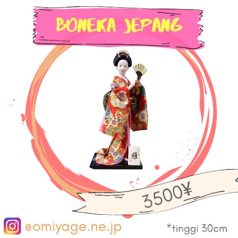 Boneka Jepang #0001