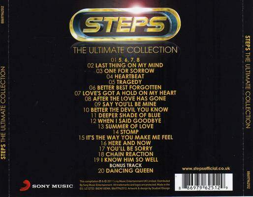 The Ultimate Collection Steps Full Album Download Tracklist