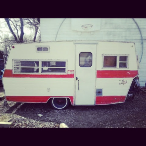 Proud owners of a 1970's Lark.... {Vintage Camper}