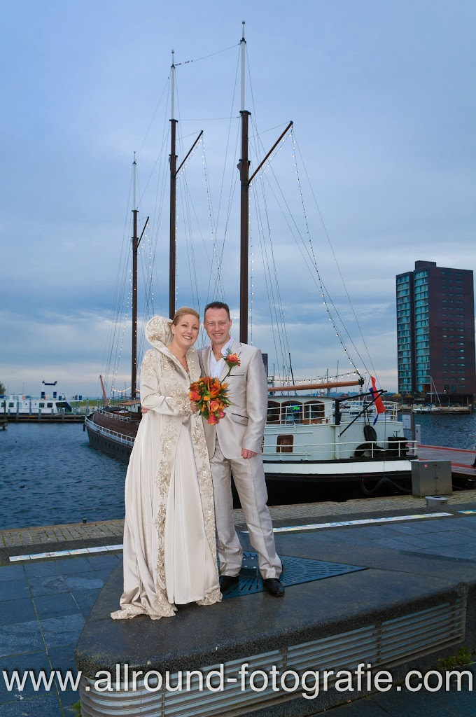 Bruidsreportage (Trouwfotograaf) - Foto van bruidspaar - 029