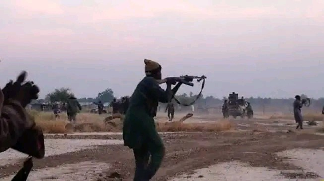 Gunshots As ISWAP Fighters Ambush Soldiers On Mission To Secure Politicians