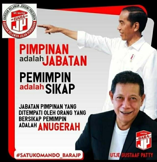 Terpilih Sebagai Plt Ketum, Bara JP Makassar Ucapkan Selamat Kepada Utje