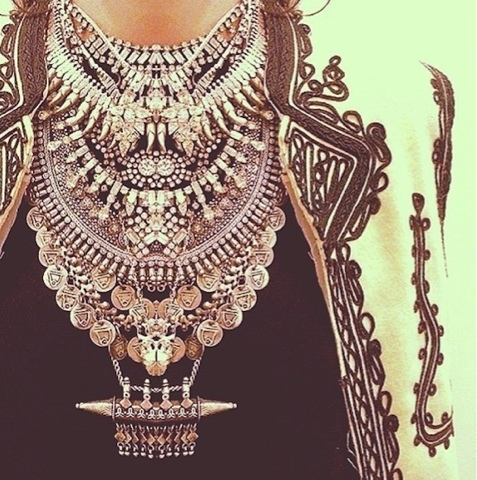 statement necklaces tendances