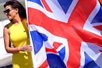 pitpoes met Engelse vlag