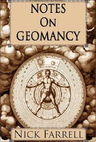 Cover of Nick Farrell's Book Notes On Geomancy