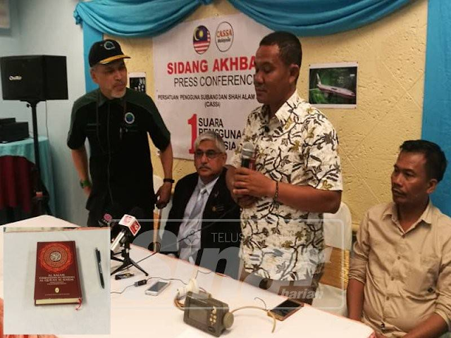 Saksi bersumpah dengan al-Quran, dakwa lihat pesawat MH370