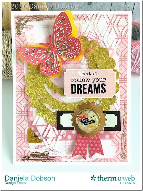 Follow your dreams by Daniela Dobson