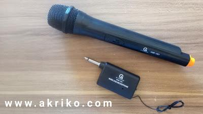 Mic Wireless Murah G Power VHF-101