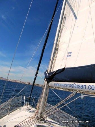 Paseo en velero por la Costa Blanca de Alicante