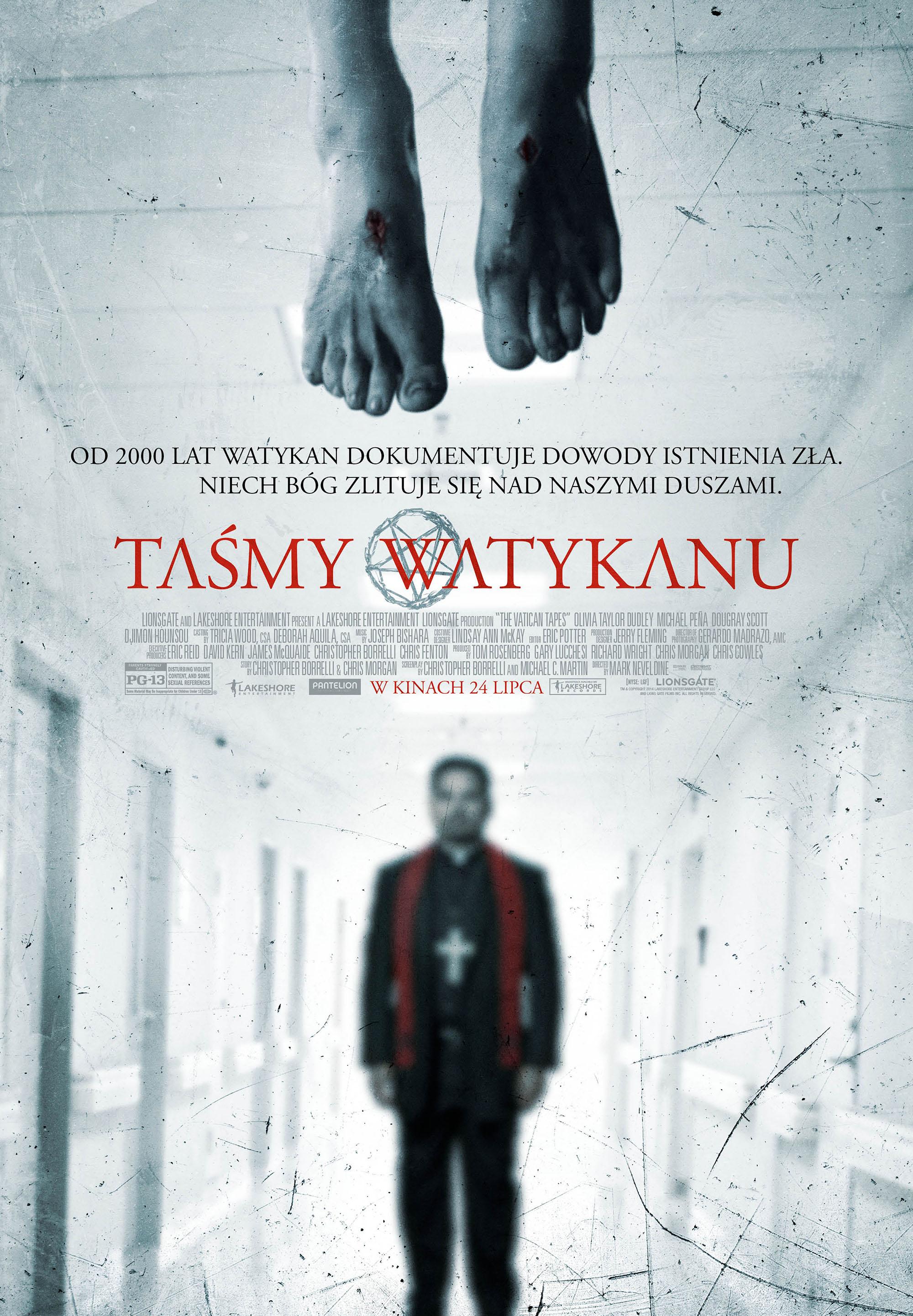 Polski plakat filmu 'Taśmy Watykanu'