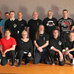 Wing Chun Seminar mit Trevor Jefferson 09.11.2013