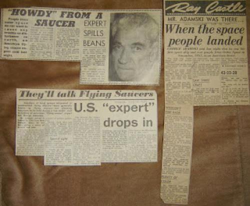 Ufology Ufoic And The 1959 Adamski Visit