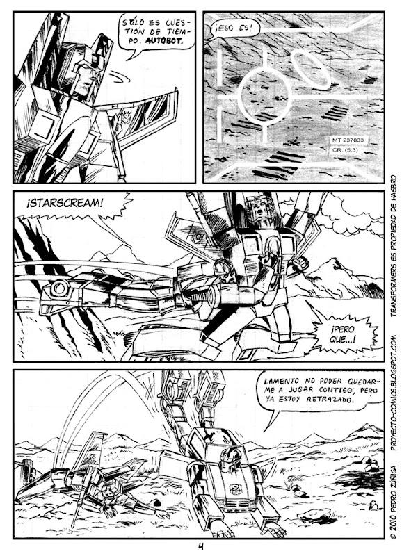 Proyecto Comics - Transformers - Como caido del cielo 04
