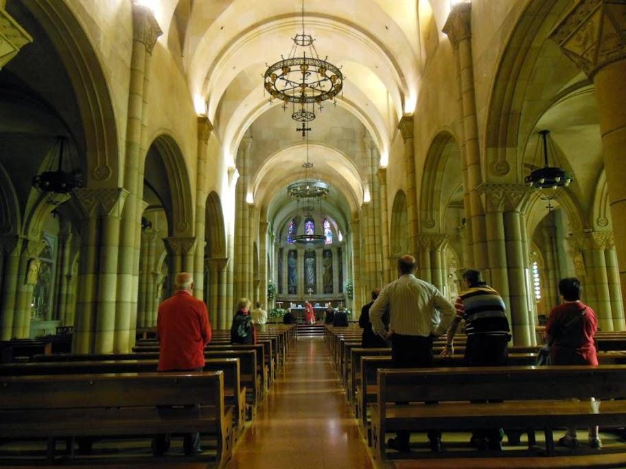 Misa en la Iglesia de San Pedro