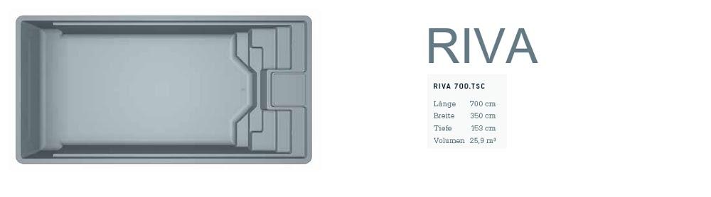 LEIDENFROST-RIVA mit Abmessungen