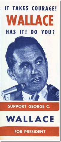 George Wallace 1968 campaign brochure cover