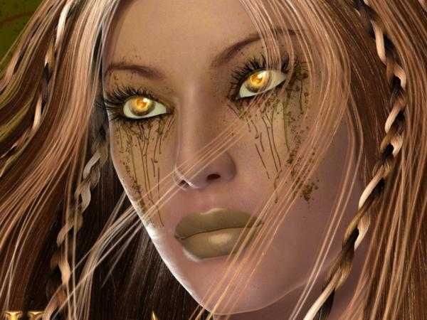 Yellow Tears Girl, Magic Beauties 1