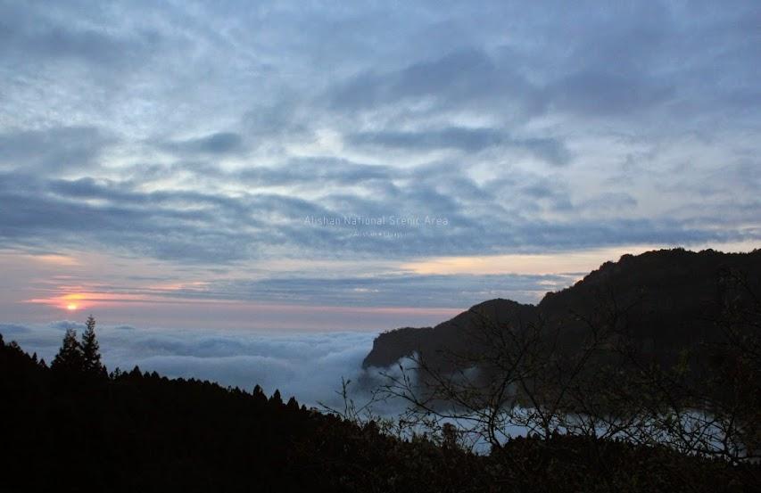 嘉義阿里山夕陽-5