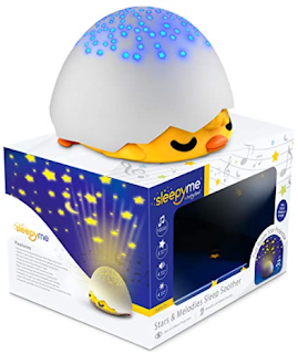 Smart Sleep Soother with Projector and Duck