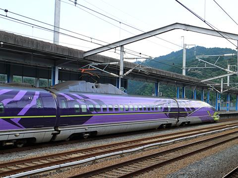 JR西日本 山陽新幹線「こだま741号」500 TYPE EVA 三原駅にて その3
