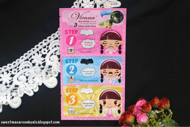 Vienna 3 Steps Nose Pack Blackhead Remover