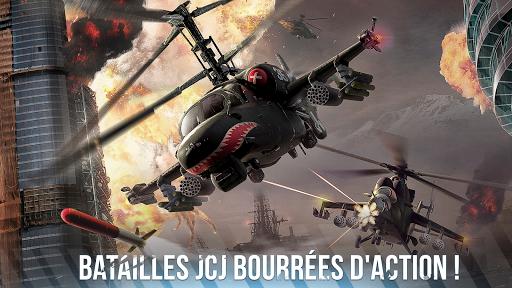 Télécharger Gratuit Modern War Choppers: shooter de guerre JcJ  APK MOD (Astuce) screenshots 1