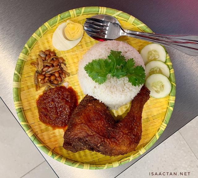 Nasi Lemak Ayam Goreng from Belacan-Laa