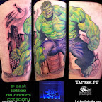 Photo - Incredible Hulk Tattoos Pictures