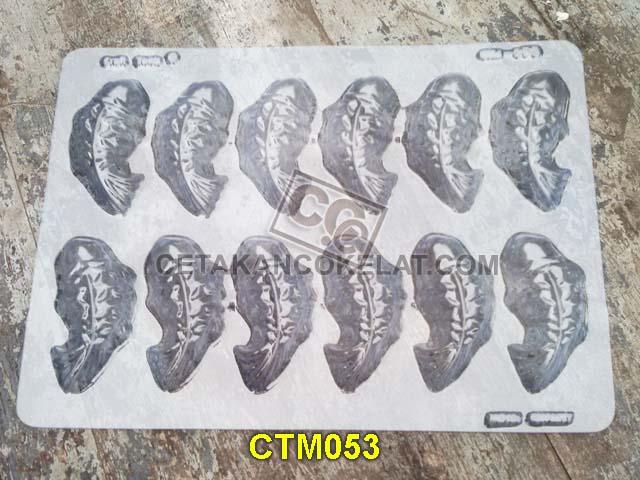 cetakan coklat cokelat hewan binatang ikan mas koi CTM53 CTM053 mold