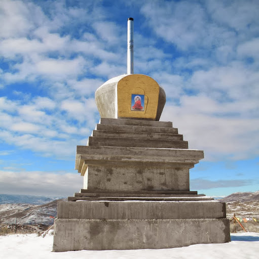 Stupa in January 2014
