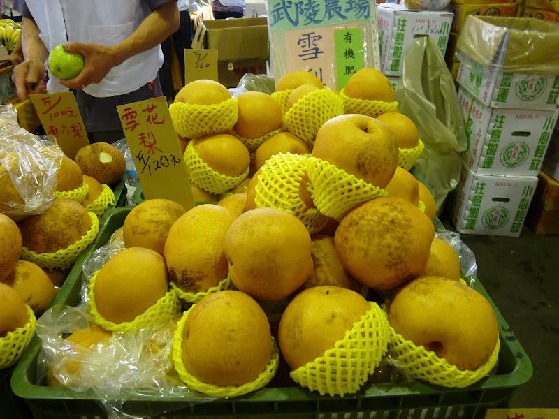 variété locale de poire succulente